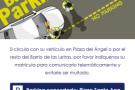 Hostal Persal – Cartel Parking Concertado