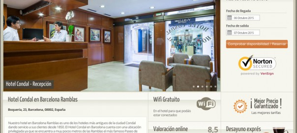 Hotel Condal Habitaciones